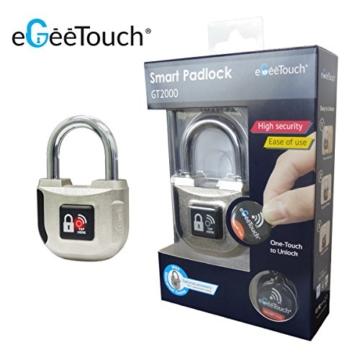 eGeeTouch Intelligentes NFC Vorhängeschloss
